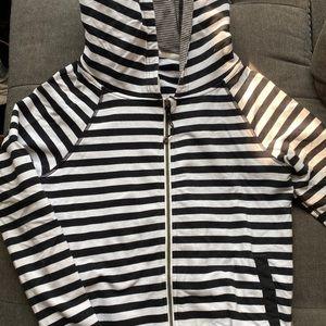 Lululemon soft jacket zip up with open back